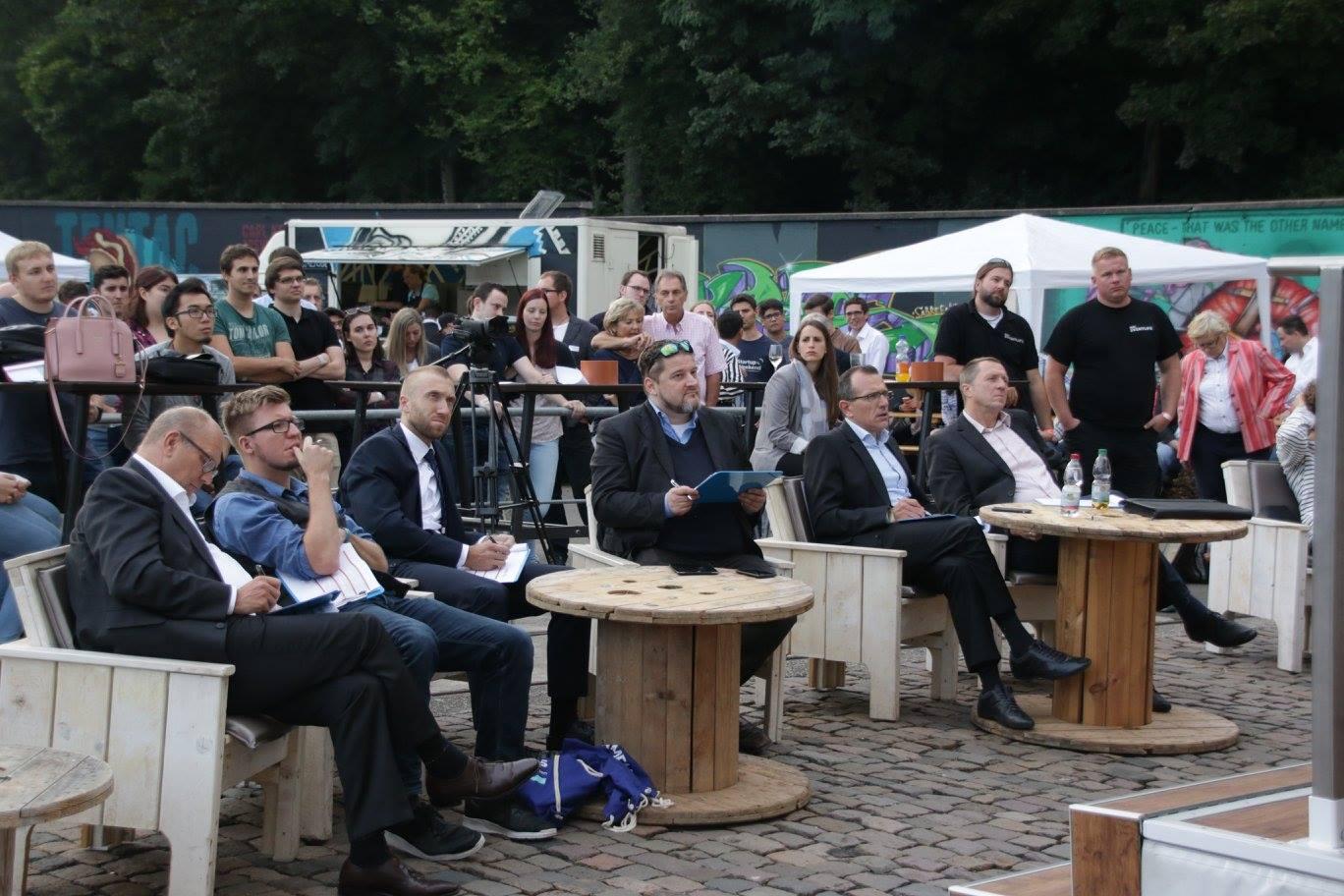 Jury beim Startup Summit Südwest